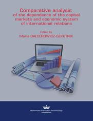 Comparative analysis of the depednence of the capital markets and economic system of in-ternational relations