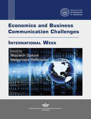 Economics and Business Communication Challenges. International Week