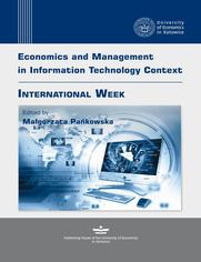 Economics and Management in Information Technology Context. INTERNATIONAL WEEK